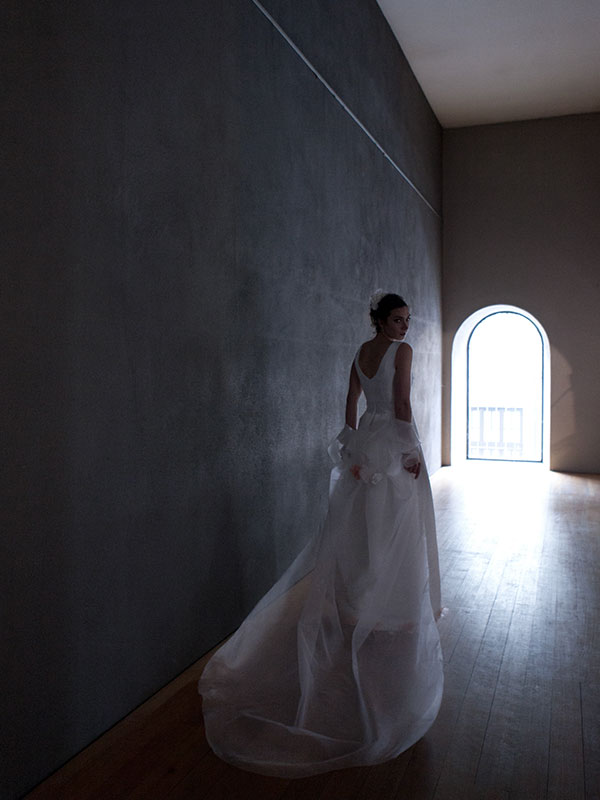 Ruth Hecking. Brautmode. – Fotografie: Siggunt Handwerk