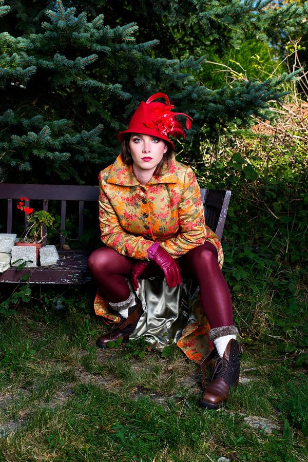 Ruth Hecking. Hut: Andrea Stahl. – Fotografie: Martin Duerr