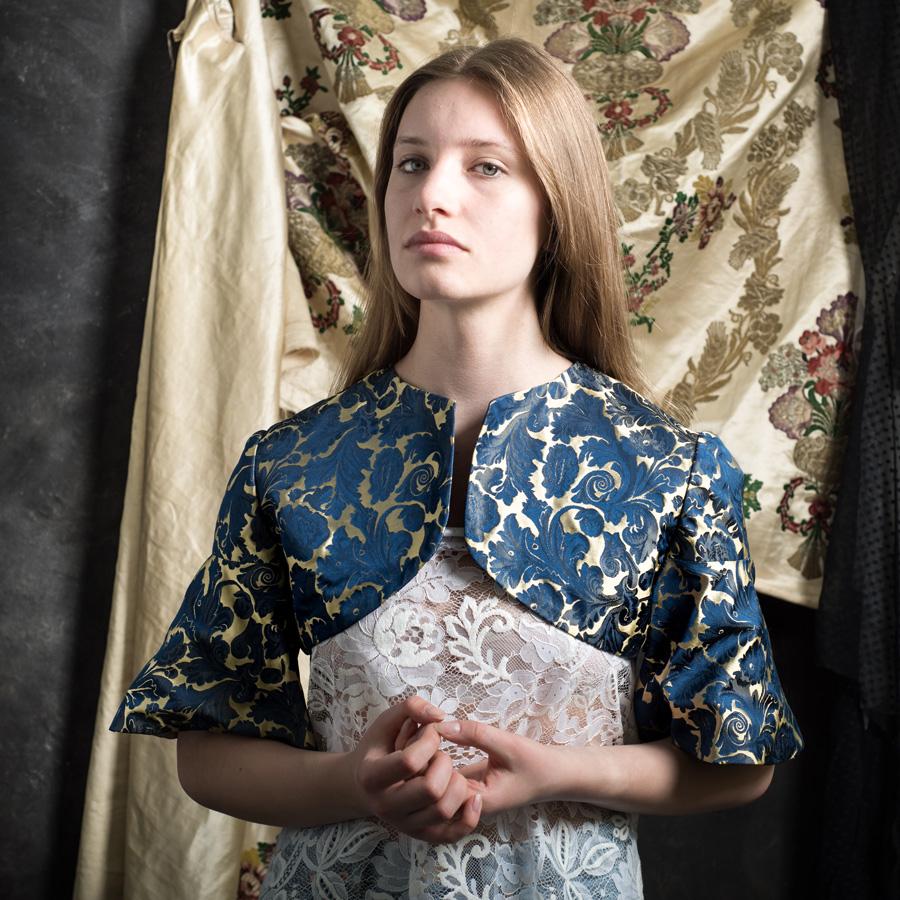 Ruth Hecking. Historische Kleidung. – Fotografie: Peter Wilson