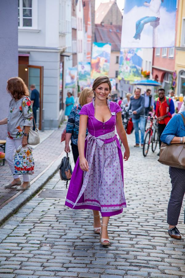 Ruth Hecking. Bergstraßenfest 2018. – Fotografie: Nina Kosak